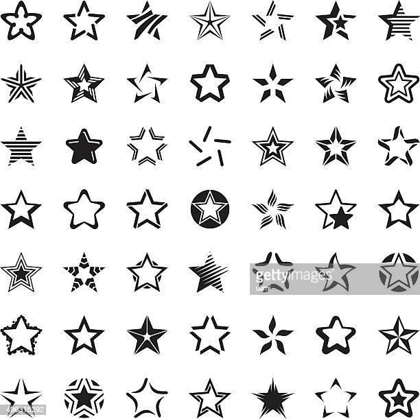 Sterne-icon-set