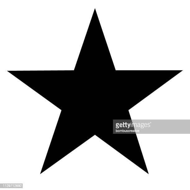 illustrazioni stock, clip art, cartoni animati e icone di tendenza di star icon - a forma di stella
