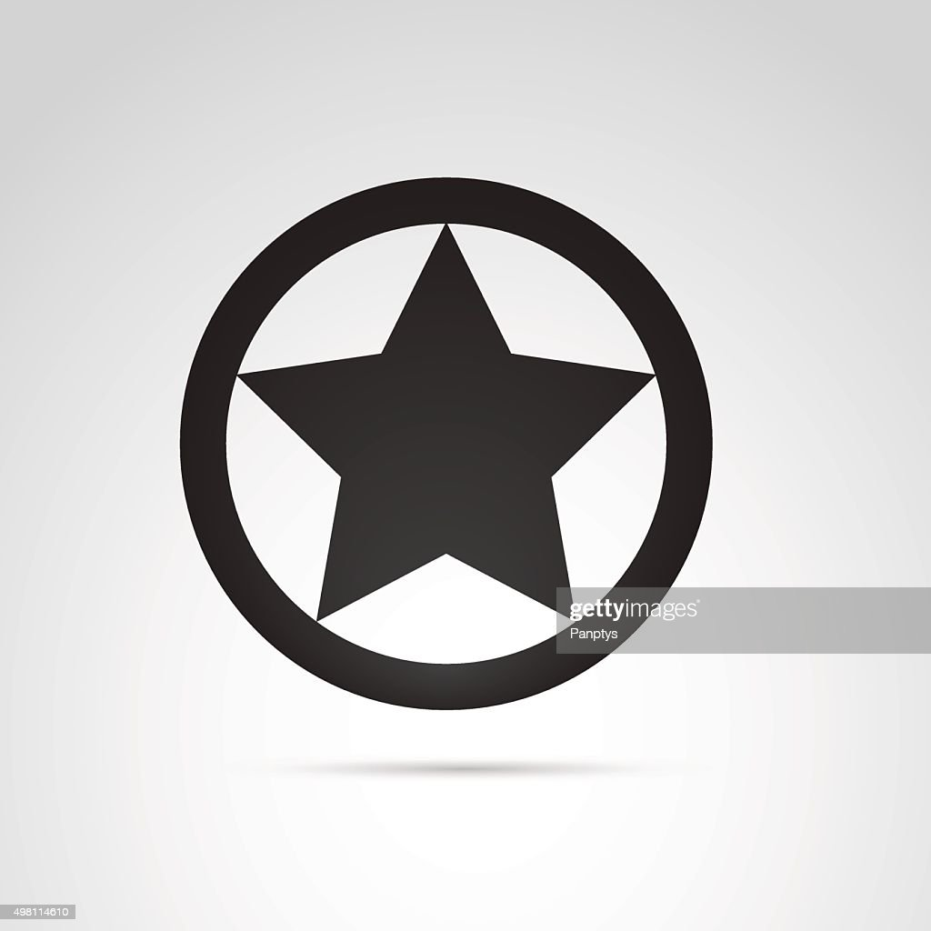 Star in circle icon.