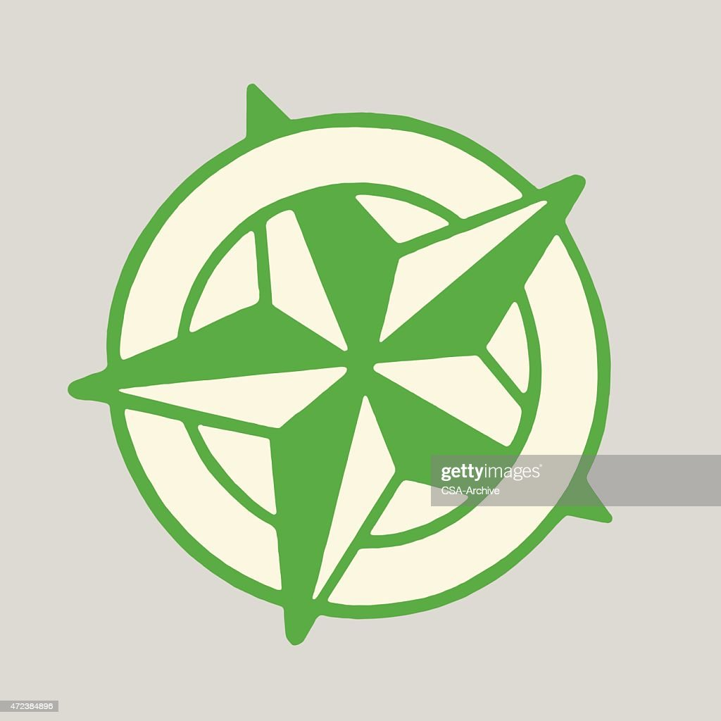 Star Inside Circle Vector Art Getty Images