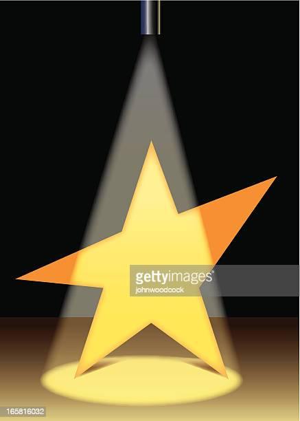 star is born - actor stock illustrations