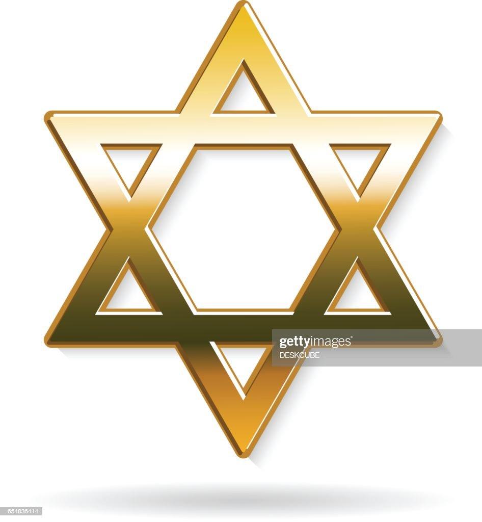 Star Of David Judaism Symbol Vector Art Getty Images