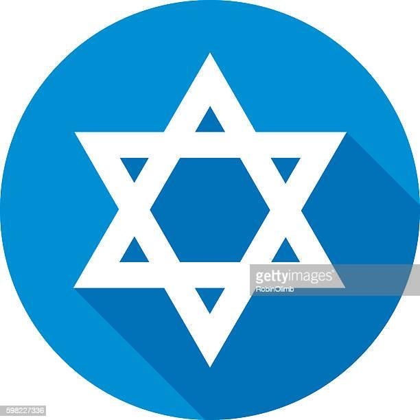 Star Of David Round Icon