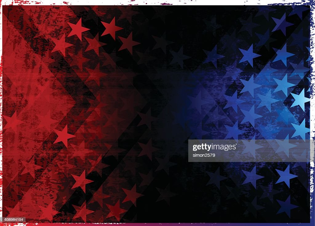 Star shape abstract background