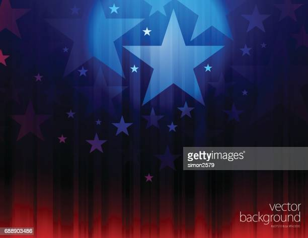 star shape abstract background - political campaign stock illustrations, clip art, cartoons, & icons