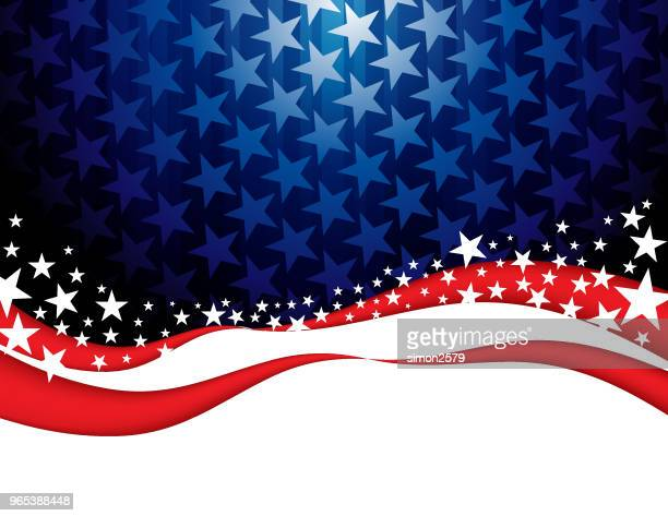 star shape abstract background - presidential candidate stock illustrations