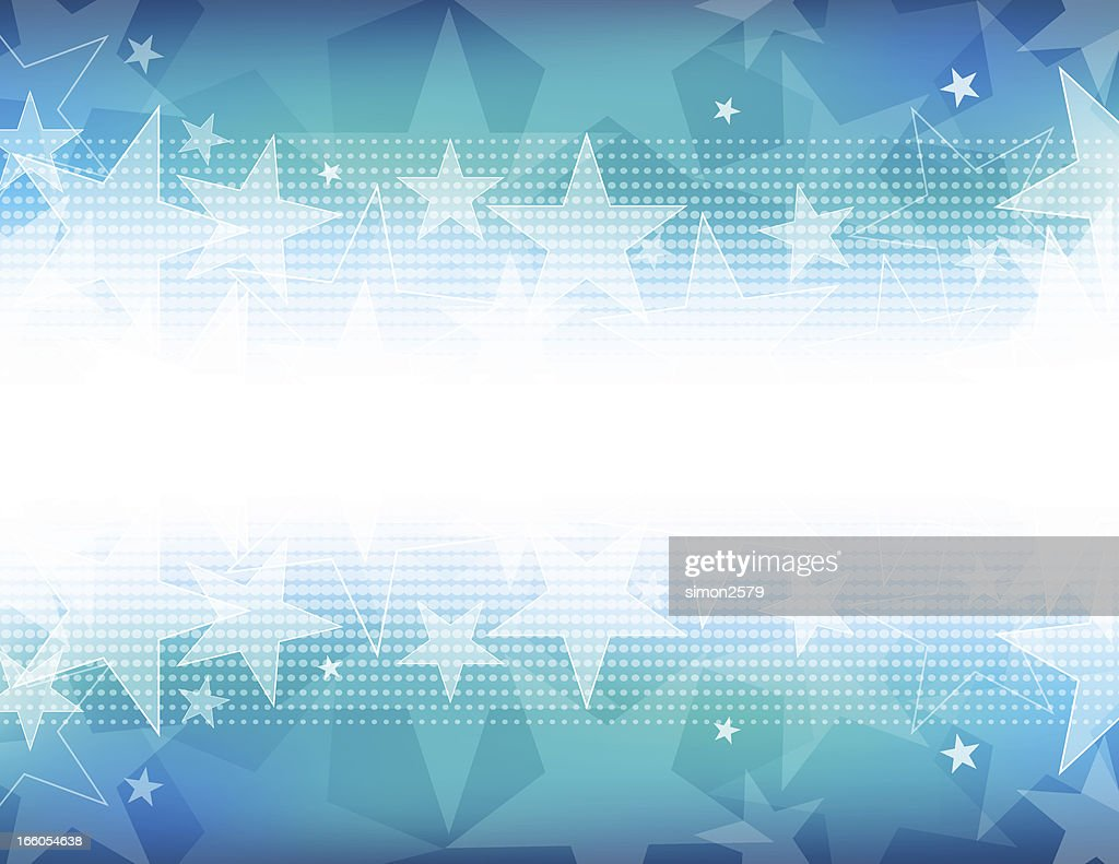 Star shape background with white out on the center horizon : stock illustration