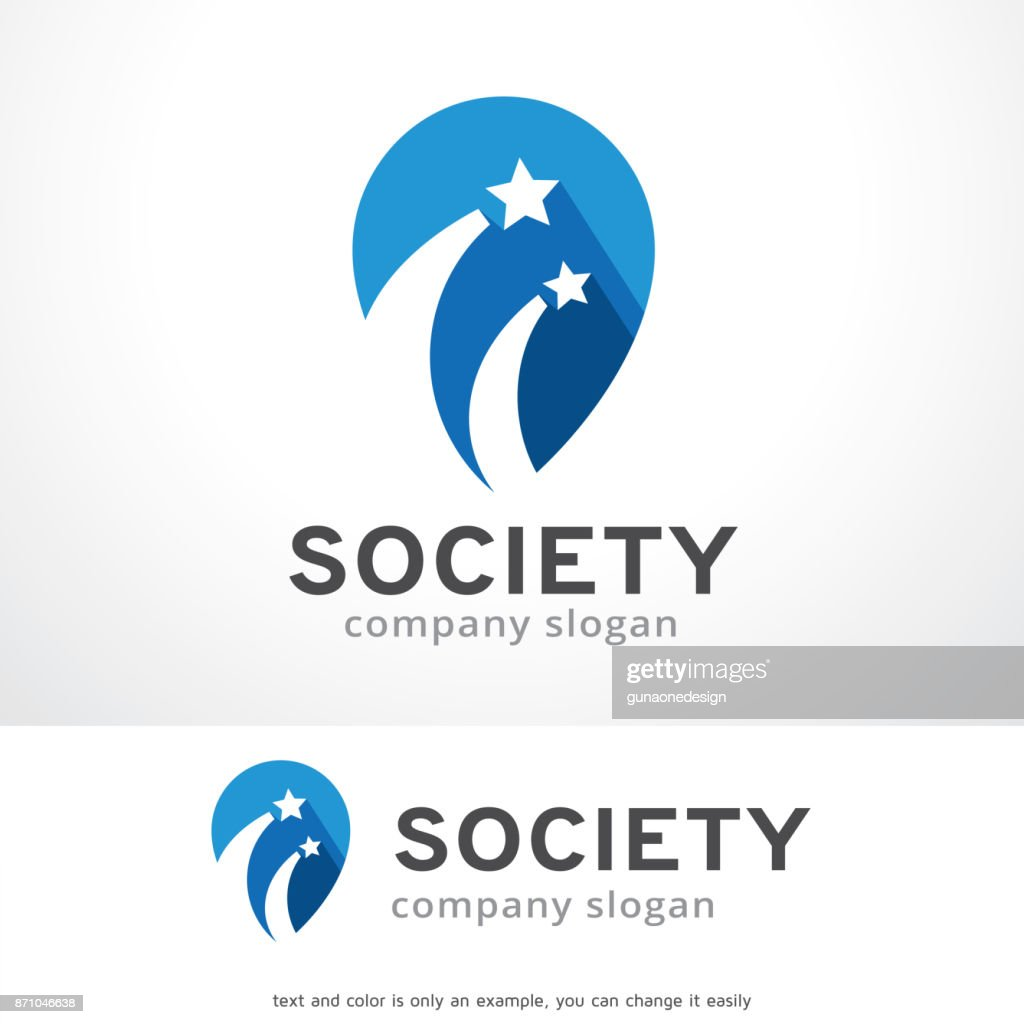 Star Society Symbol Template Design Vector, Emblem, Design Concept, Creative Symbol, Icon