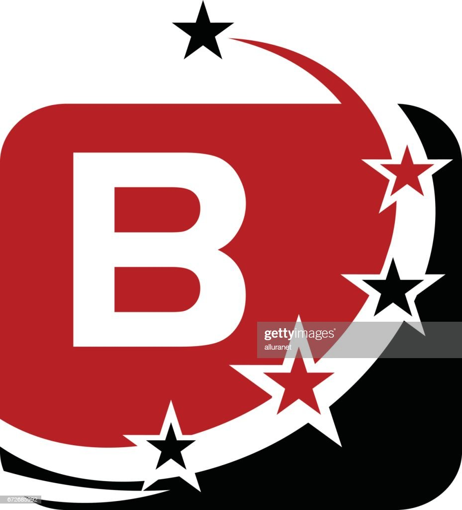 B Stock Solutions star solutions initial b stock illustration - getty images