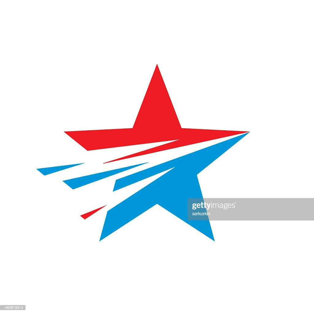 Star - vector sign illustration.