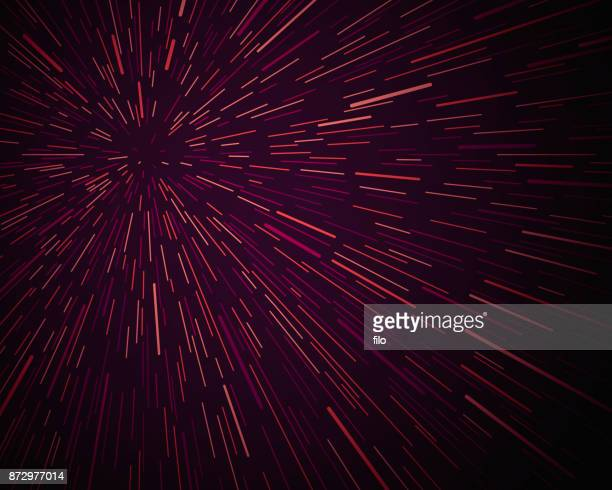 star warp background - lighting equipment stock illustrations, clip art, cartoons, & icons