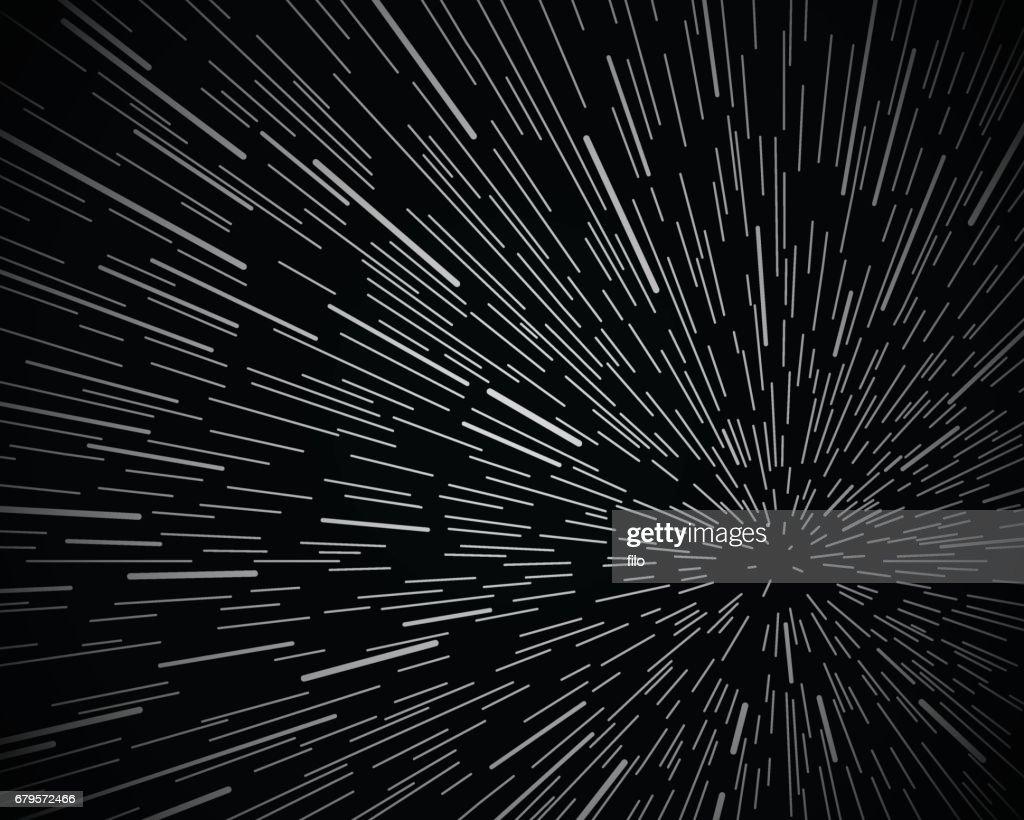 Star Warp Space Background : stock illustration