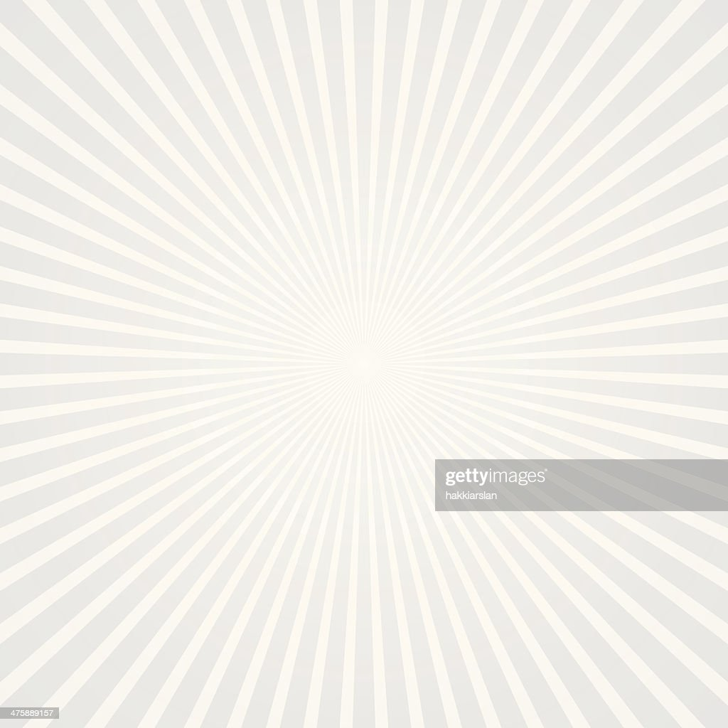 Starburst background with white & gray color tones