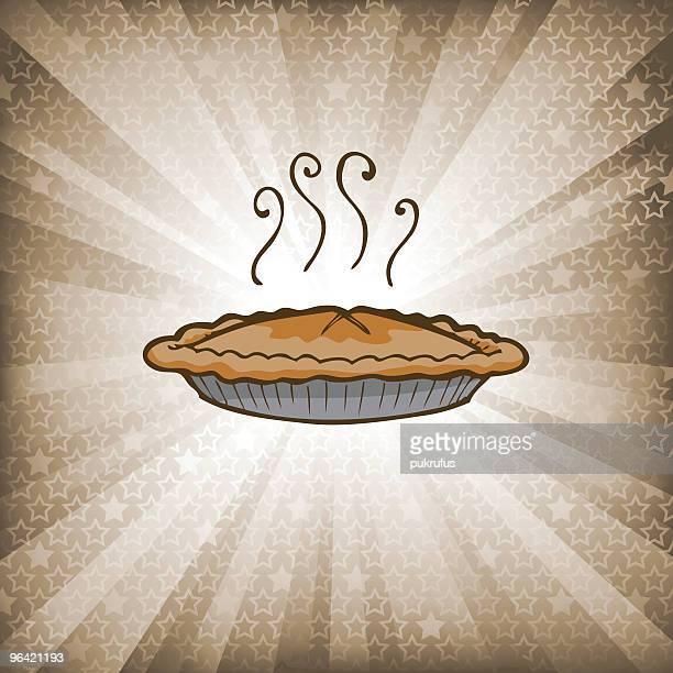 starburst_applepie - apple pie stock illustrations