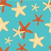 Starfish background pattern