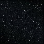 Starry night background