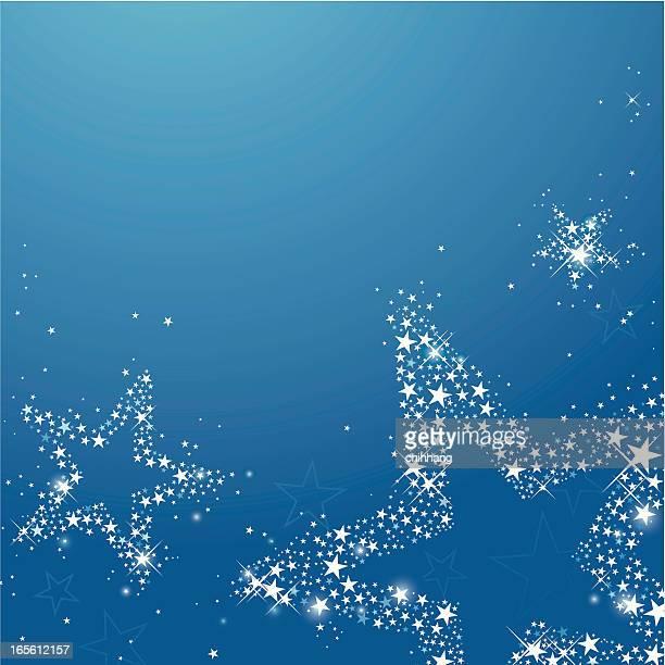 Sternennacht (mit Textfreiraum