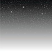 Starry sky, night
