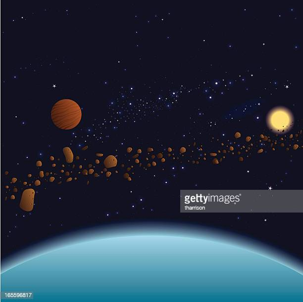 Stars and Asteroids