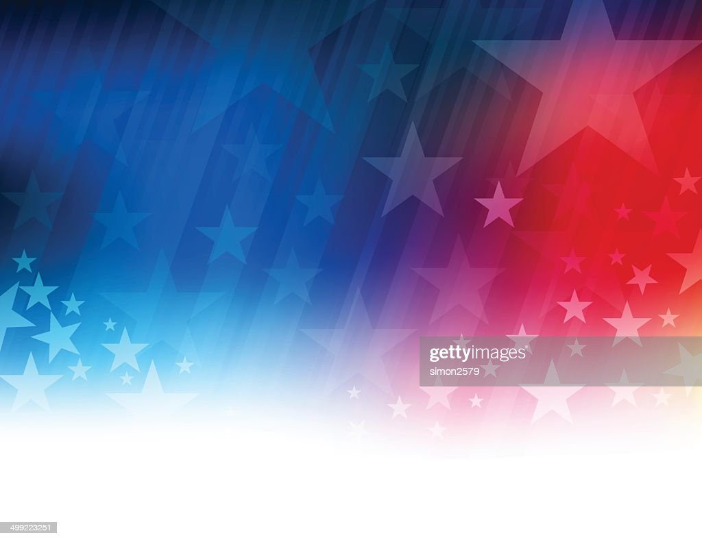 Stars and stripes abstract