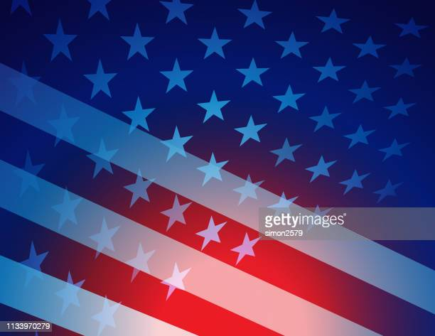 usa stars and stripes background - free wallpapers stock illustrations