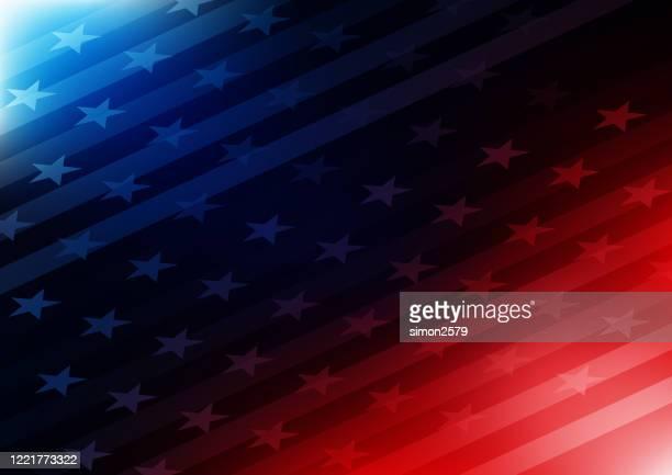 usa stars und streifen hintergrund - patriotismus stock-grafiken, -clipart, -cartoons und -symbole