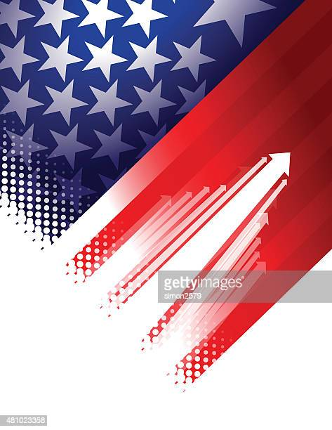 usa stars and stripes background - politics and government stock illustrations, clip art, cartoons, & icons