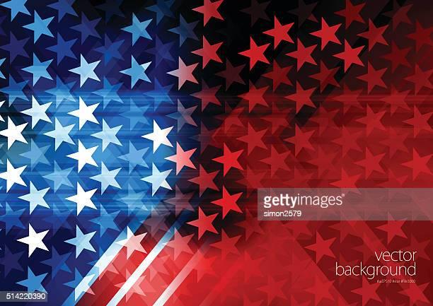 usa stars and stripes background - politics background stock illustrations