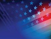 USA Stars and stripes background