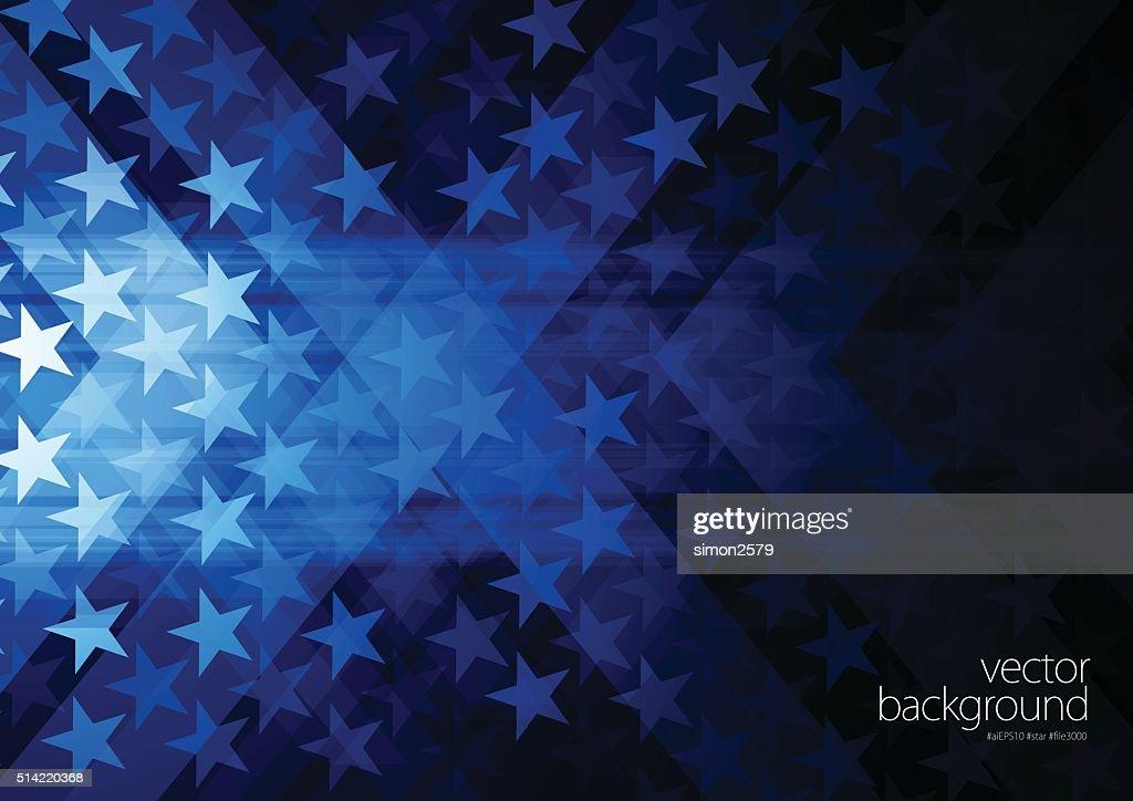 Stars and stripes : stock illustration