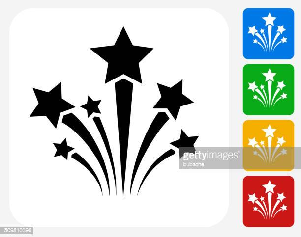 Stars Icon Flat Graphic Design