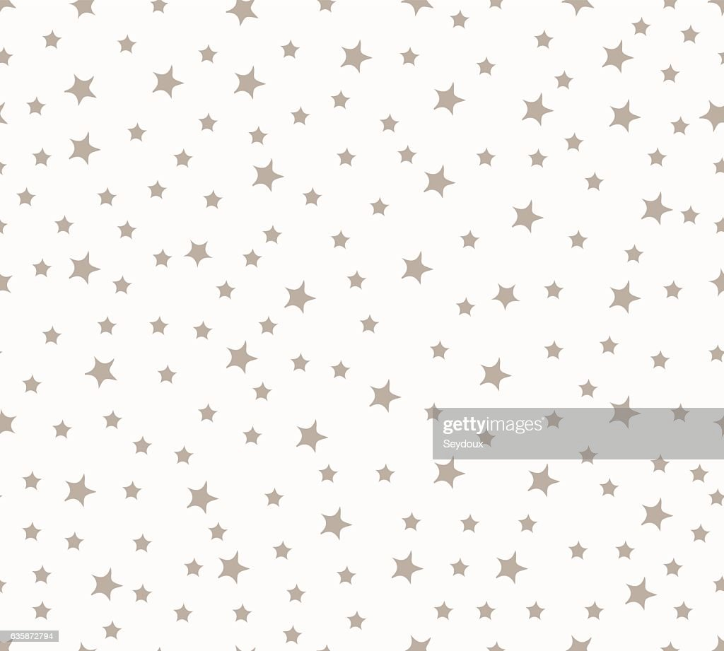 Stars seamless pattern. Vector illustration.