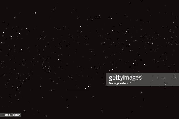 stars, space and night sky - copy space stock illustrations