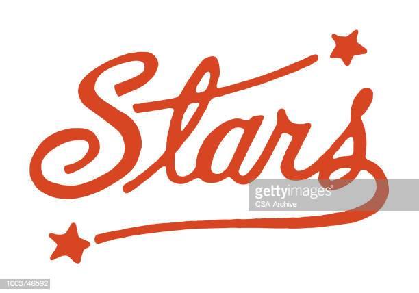 stars - celebrities stock illustrations, clip art, cartoons, & icons