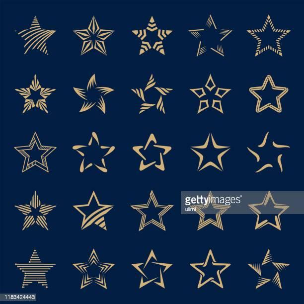 星 - 尖っている点のイラスト素材/クリップアート素材/マンガ素材/アイコン素材