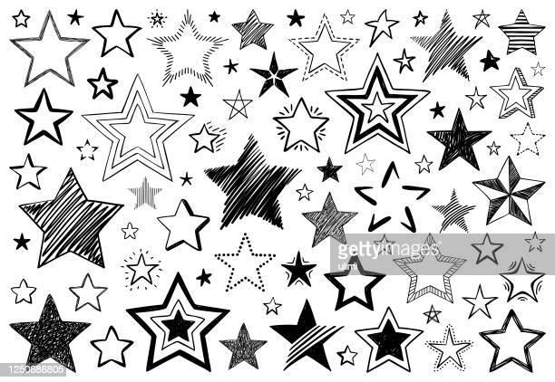 illustrazioni stock, clip art, cartoni animati e icone di tendenza di stelle - stella