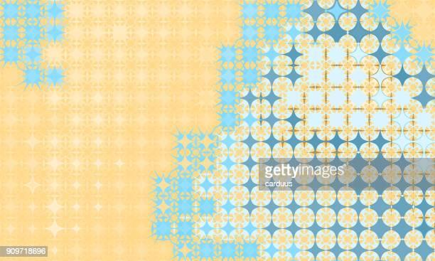 starshape  geometric pattern