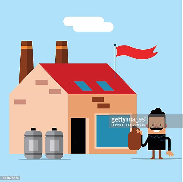 start up business - artisanal food and drink stock illustrations, clip art, cartoons, & icons