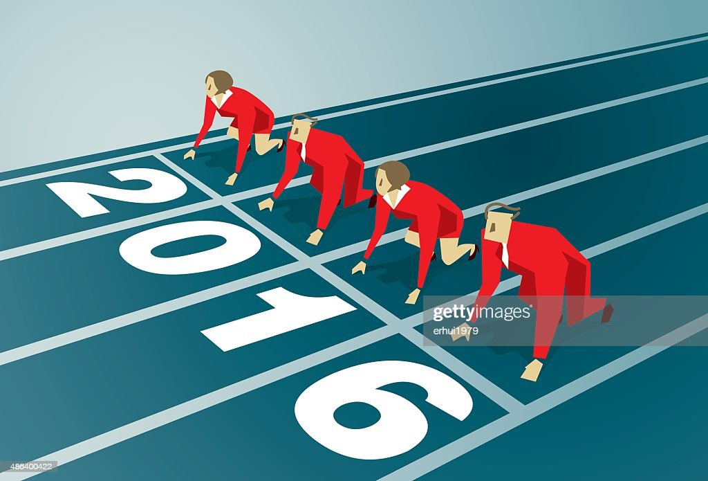 Starting Line : stock illustration