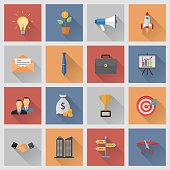 Startup and Business icons