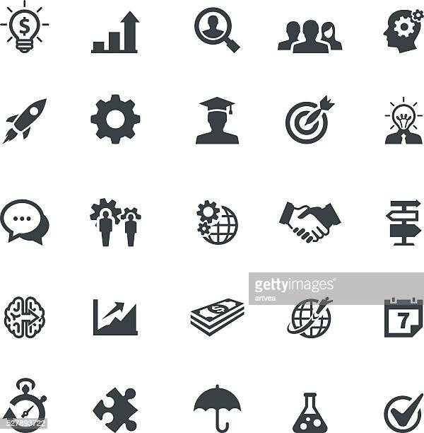 Startup and Strategy Icons