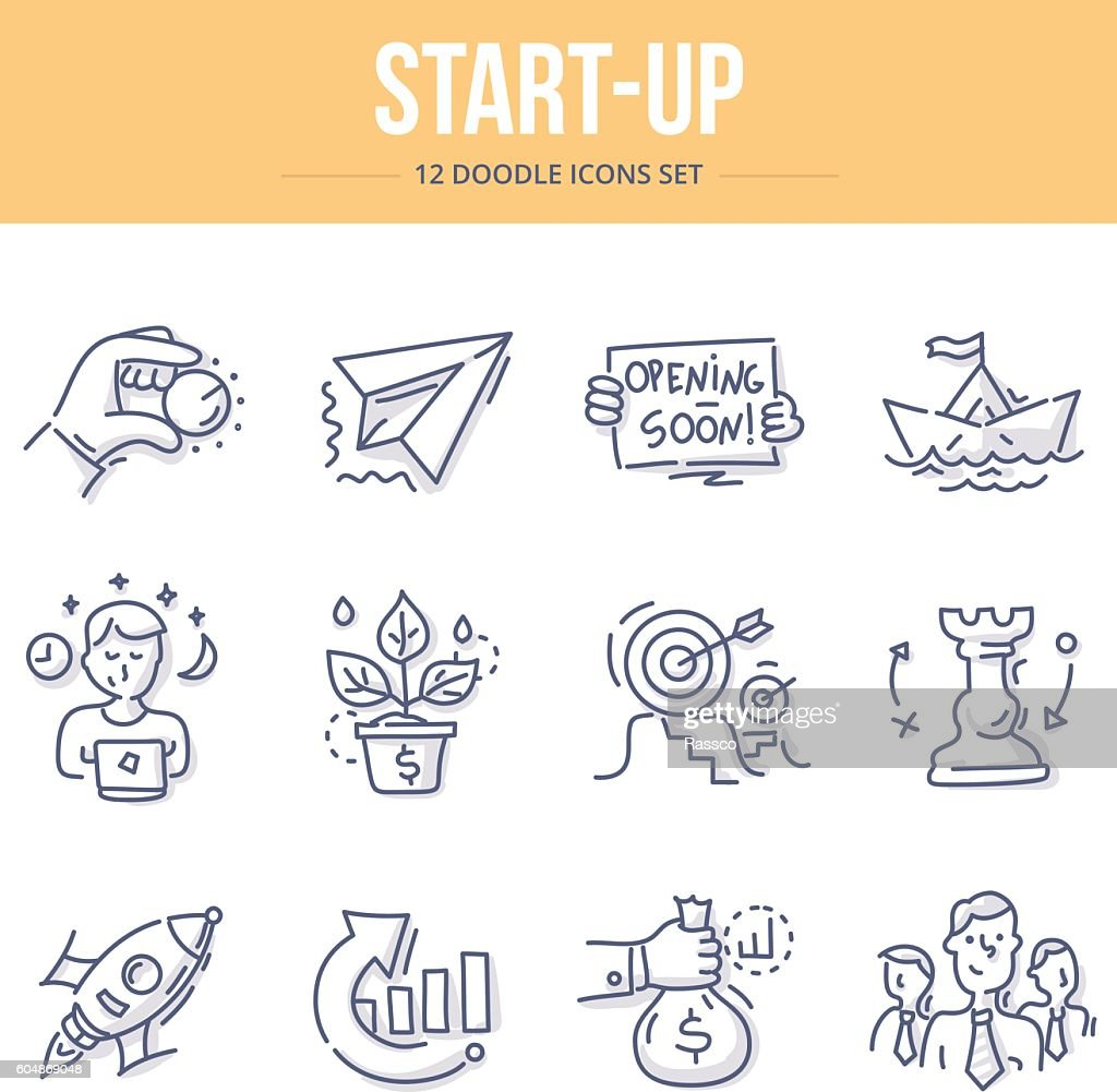 Start-Up Doodle Icons