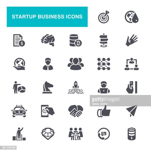 Startup Mining Icons