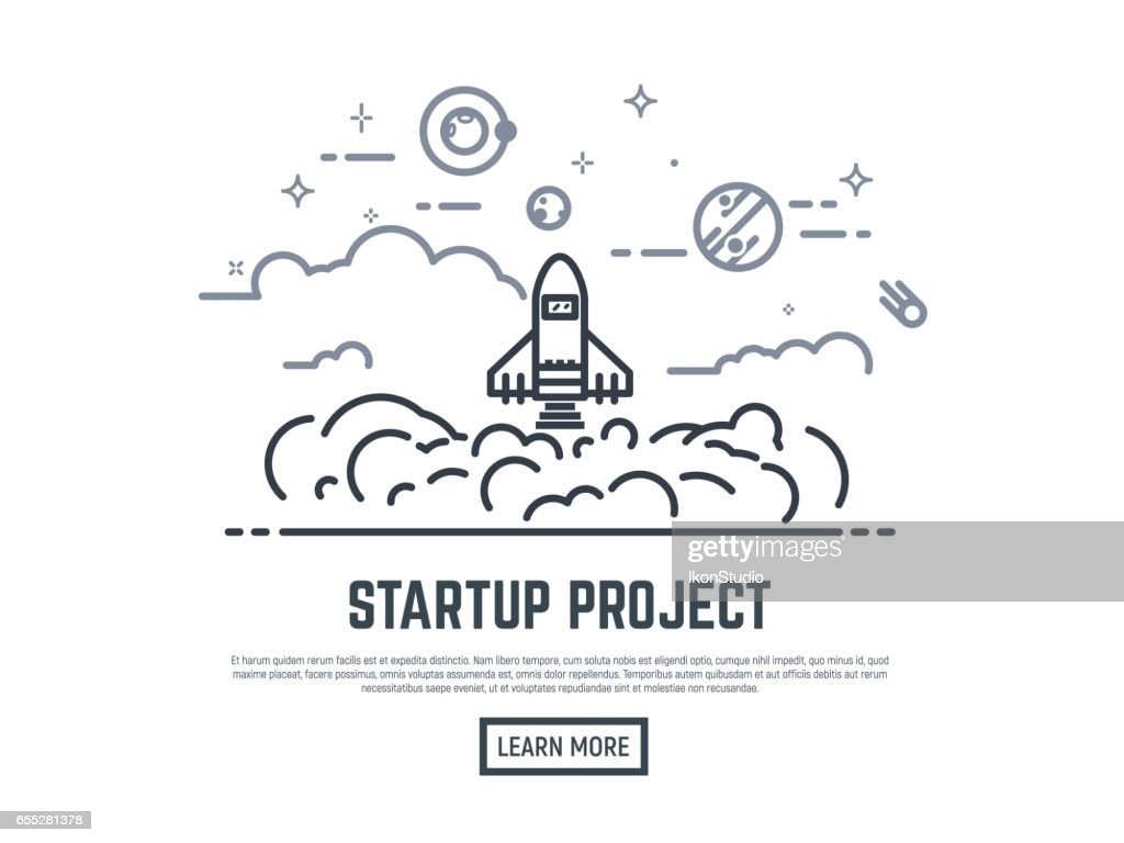 Startup rocket project