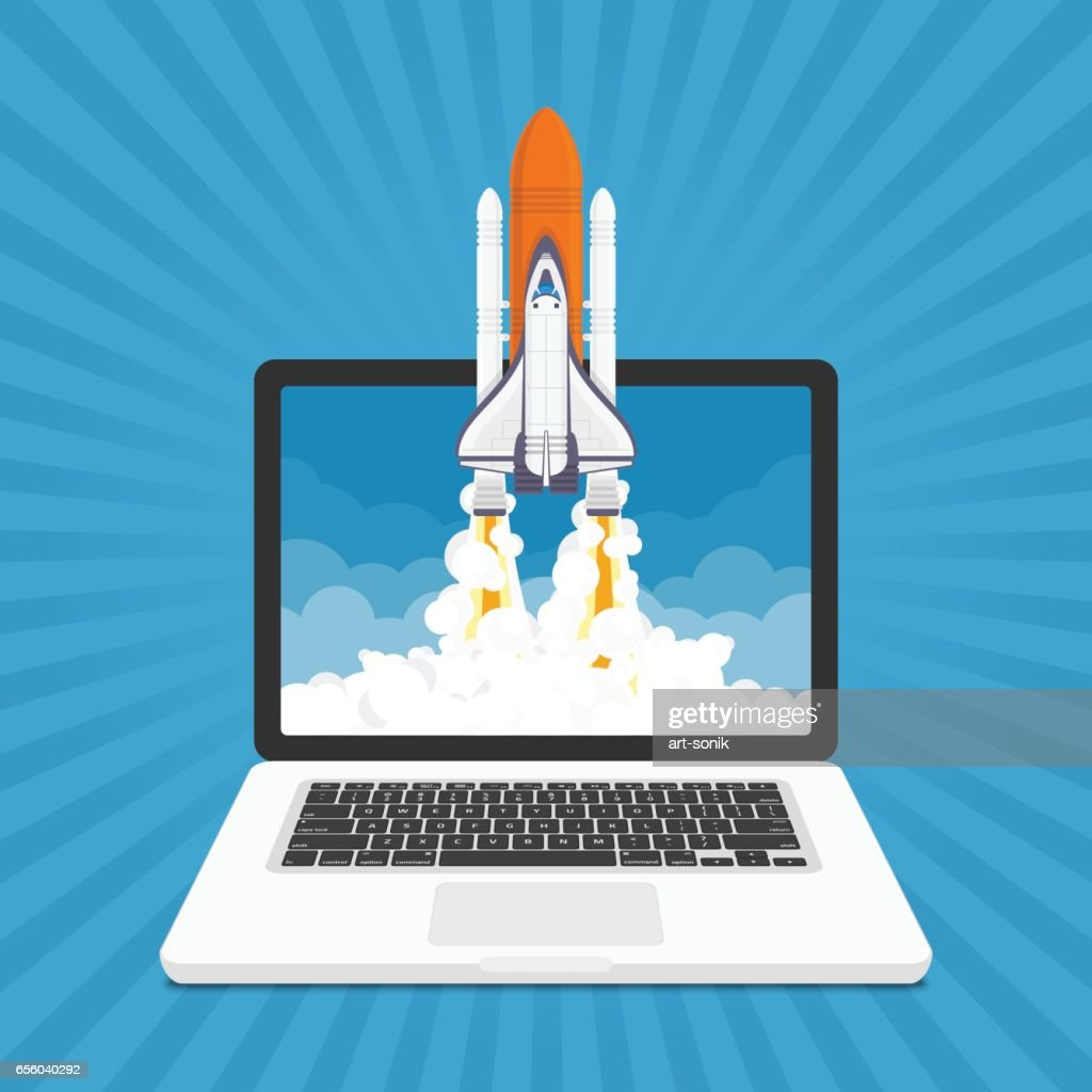 Startup vector illustration.