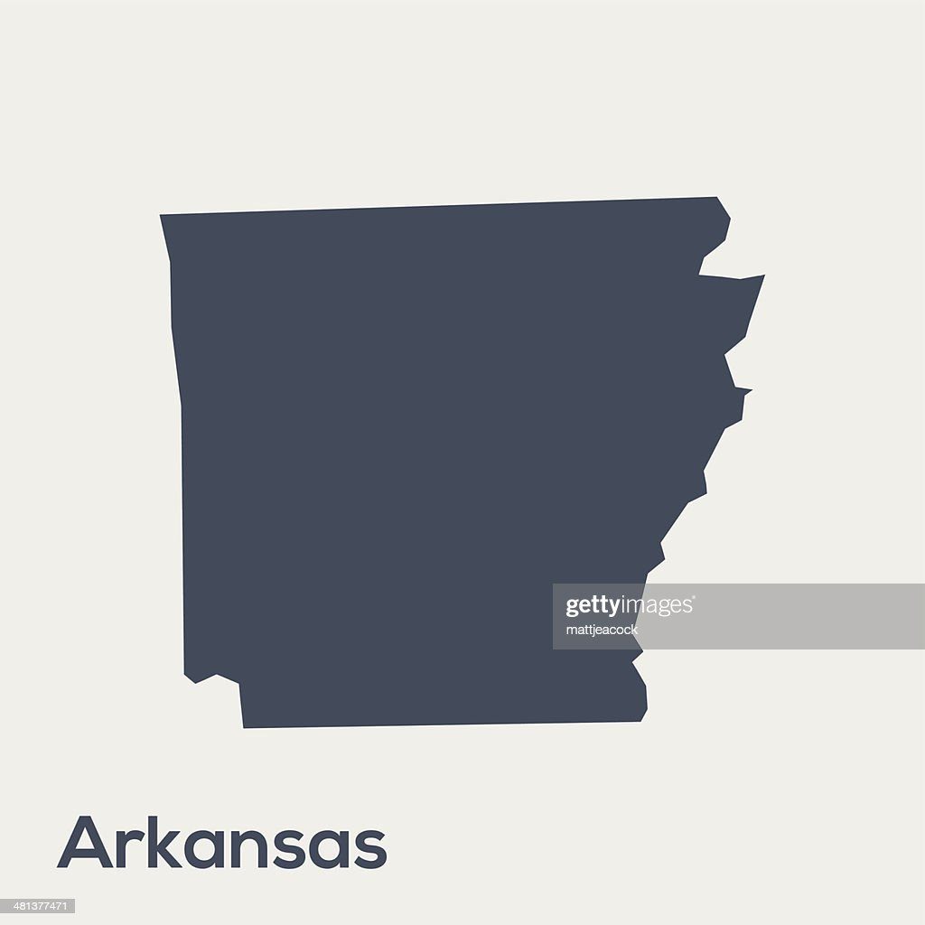 USA state Arkansas