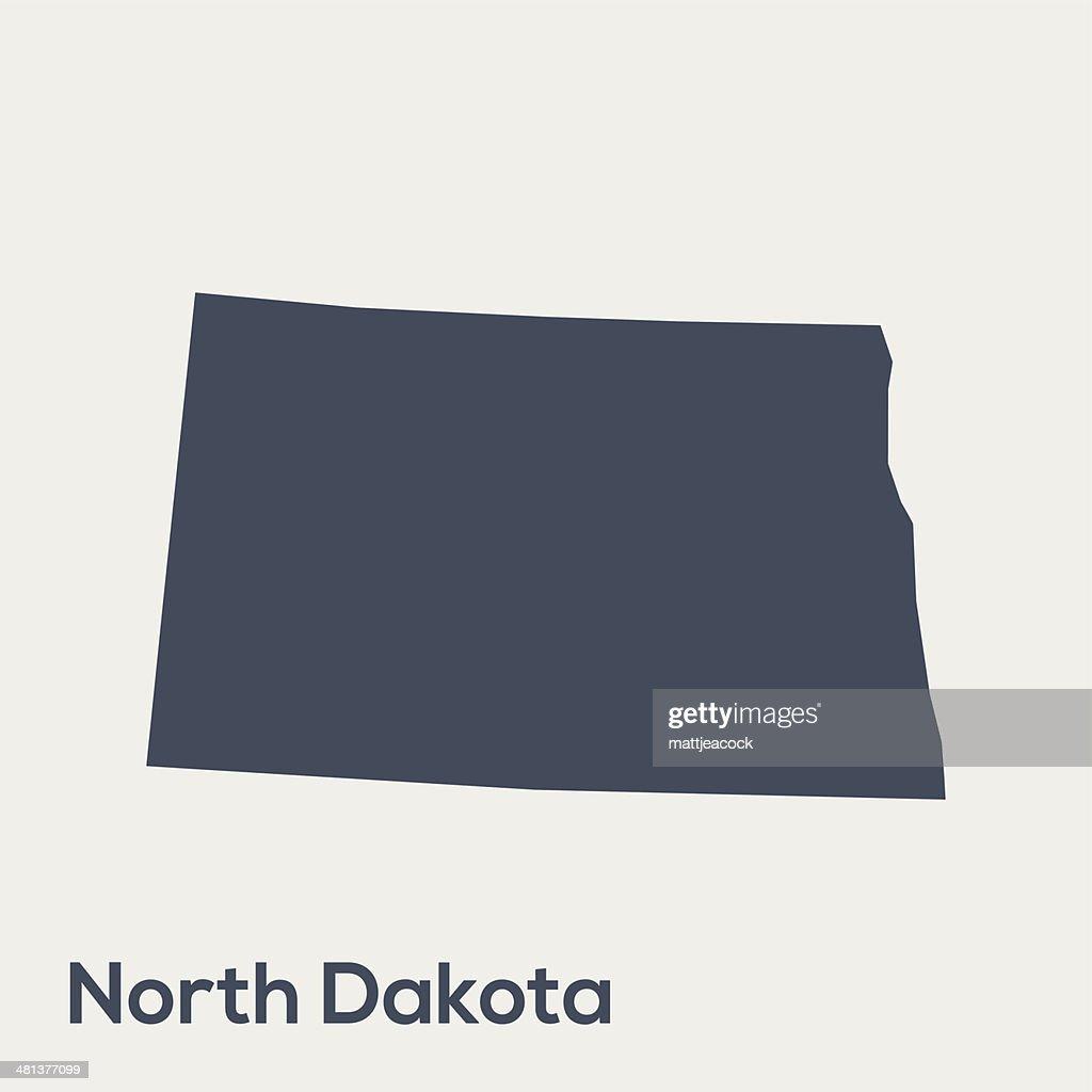USA state North Dakota