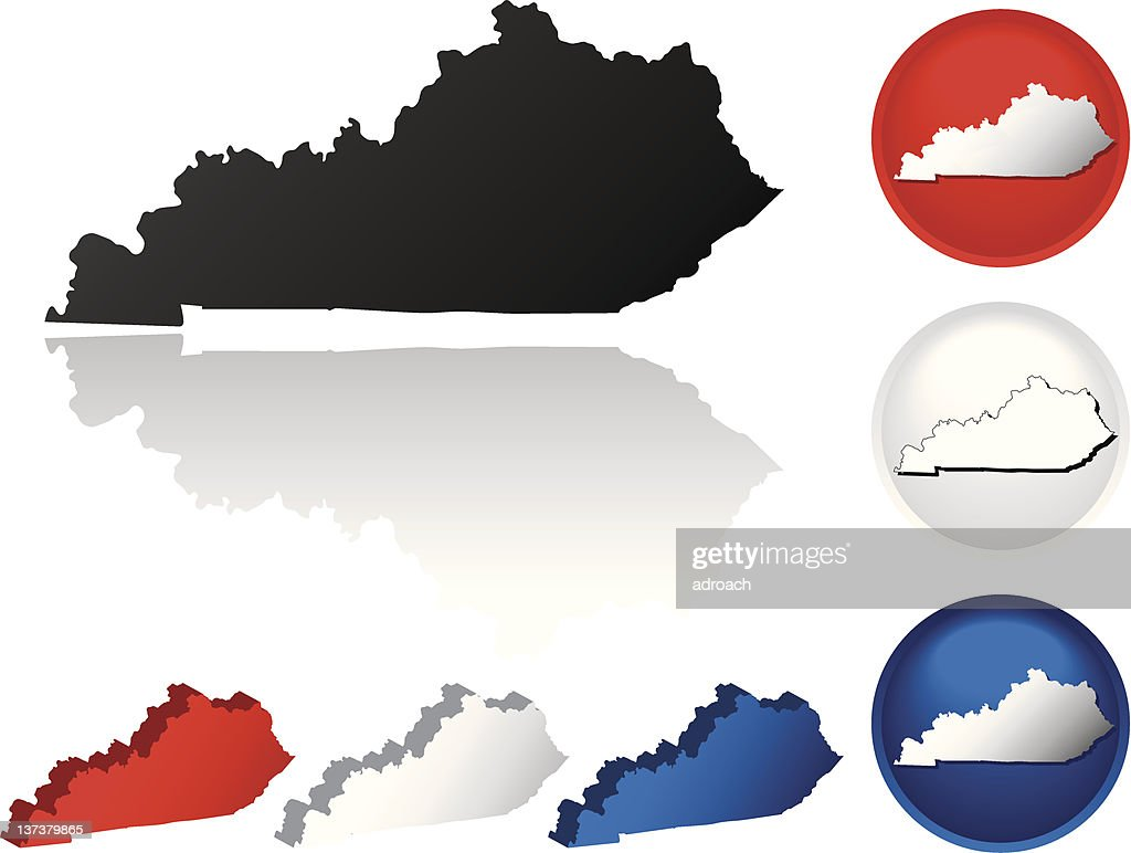 State of Kentucky Icons