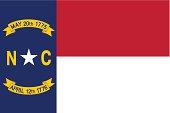 State of North Carolina Flag