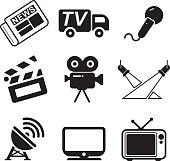 TV Station Icons